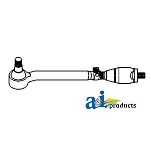Compatible With John Deere Tie Rod Assy Lh Al69818 3650 3350 3255 3155 3055 3050