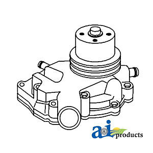 John Deere Parts Water Pump Ar65965 544b