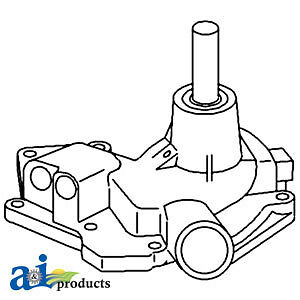 John Deere Parts Water Pump Re19937 570 570a 570b
