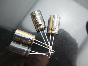 Japan 50pcs Elna Rfs Silmic Ii 100uf 50v 100mfd Silk Audio Capacitor