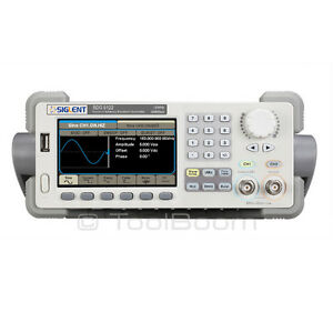 Siglent Sdg5122 Arbitrary Waveform Function Generator 2 Channels 120mhz 500ms s