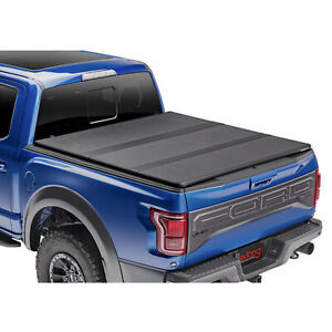 Extang 83410 Solid Fold 2 0 Fold Up Tonneau Cover For Ford F 150 77 Bed