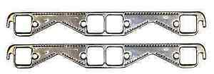 Proform 67921 Aluminum Header Gasket Kit W Square Port For Chevy Small Block