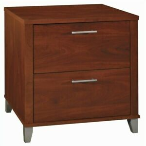 Filing Cabinet File Storage 2 Drawer Lateral Bbf In Hansen Cherry