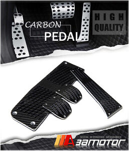 Carbon Fiber Mt Manual Pedal Set 4 Pcs For Bmw E81 E82 E87 E88 E90 E91 E92 E93