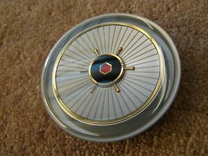 Nos Oem 1957 Packard Steering Wheel Horn Button Ornament Emblem Clipper