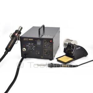 Aoyue 906c Hot Air Soldering Station Soldering Iron 220v