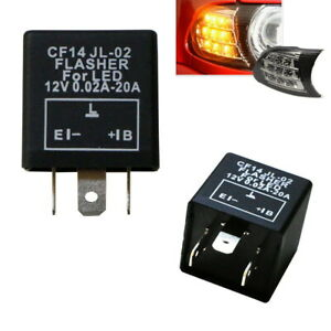 3 Pin Cf14 Cf 14 Jl 02 Ep35 Led Flasher Relay Fix Turn Signal Hyper Flash Issue