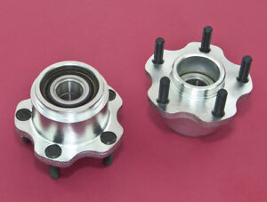 Front Wheel Bearing 5 lug Conversion Hub 4x114 3 5x114 3 For 240sx 89 94 S13