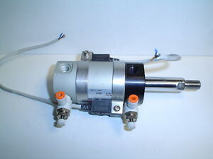 Smc Ncdgnn40 0060 xb9 Cylinder With Sense Switches And Flow Control