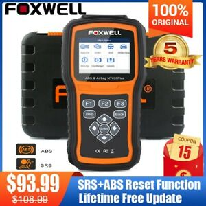 Abs Airbag Srs Reset Obdii Diagnostic Scanner Engine Code Reader Auto Scan Tools