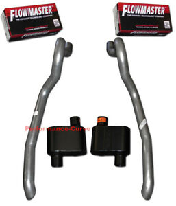 86 93 Ford Mustang Gt Exhaust System W Flowmaster Super 10