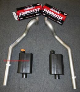 64 77 Chevrolet Chevelle 3 Mandrel Bent Exhaust Flowmaster Super 44