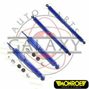 Monroe New Front Rear Shocks For Ford Ranger Mazda B4000 1990 1997 4x4