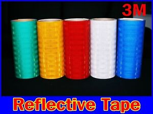12 x48 3m tm reflective Tape intensity Grade vinyl adhesive roll long sign safe