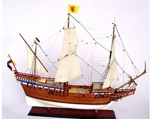 Duyfken 36 Handmade Wooden Model Ship New