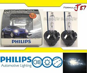 Philips Hid Xenon Bulb Crystal Vision White 5000k D2s Head Light Replacement Oe