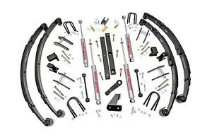 Rou 614 20 Rough Country 1987 1995 Jeep Wrangler Yj 4 5 Quot Lift W Shocks
