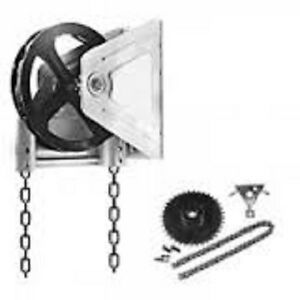 Chain Hoist System For Overhead Door Free Shipping