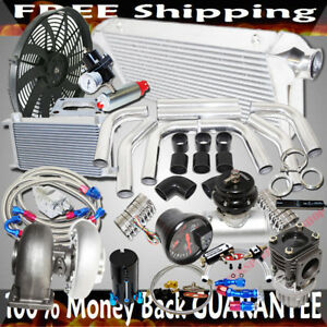 Gt45 Turbo 3 Intercooler piping bov oil Cooler Kits Stage Iii High Performance