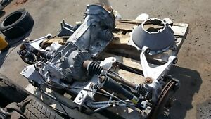 2000 Corvette C5 Rear Suspension With Differential And Automatic Transmission