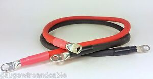 4 Gauge Awg Copper Battery Cable Marine Grade Tinned Boat car truck rv solar