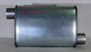 Full Boar Performance Turbo Muffler O o 2 5 14 Body