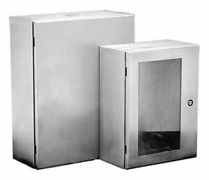 New Hoffman Csd24248ss Stainless Steel Enclosure 24 x24 x8