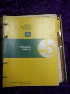 John Deere Planter Monitoring Systems Service Manual