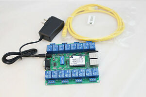 16 Channel Wifi Network Io P2p Remote Control Relay F Arduino Relay Android Ios