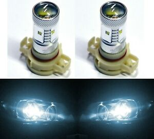 Led 30w 12085 5201 Ps19w White 6000k Two Bulbs Drl Daytime Light Replace Oe