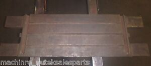 34 5 X 16 X 2 5 T slotted Table Cast Iron Steel Layout Welding _jig_3 slot