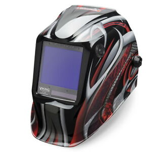 Lincoln Viking 3350 Series Twisted Metal Auto Darkening Welding Helmet k3248 3