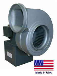 Centrifugal Blower Industrial 4 Ports 1 3 Hp 115 230v 1 Ph 500 Cfm