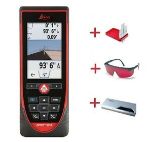 Leica Disto S910 W Laser Glasses Gzm3 Targetplate And 11000 Ma Power Bank