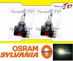 Sylvania Stock H15 15 55w Two Bulbs Head Light Drl Daytime High Beam Replacement