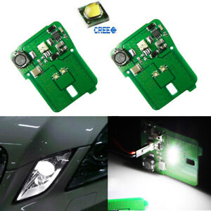 Hid Matching White Led Parking Position Light For Mercedes E class 10 13 Pre lci