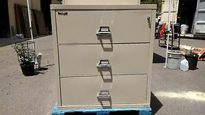 fire King File Cabinet 3 Drawer Lateral Fire File We Deliver Locallynorthernca