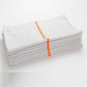 60 New Terry Cloth Bar Towels Rags Wiping Cloths Janitorial 32oz Heavy Duty