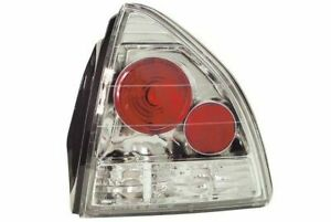 Ipcw Cwt 738c2 Pair Of Crystal Clear Euro Tail Lights For 92 96 Honda Prelude