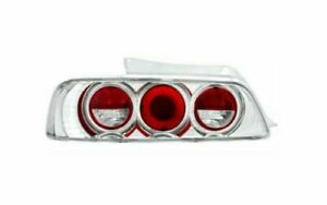 Ipcw Cwt 739c2 Pair Of Crystal Clear Euro Tail Lights For 97 01 Honda Prelude