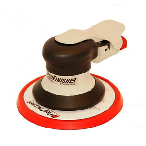 Hutchins Profinisher Random Orbital Action Sander 3 16 6 Hook Pad 600h