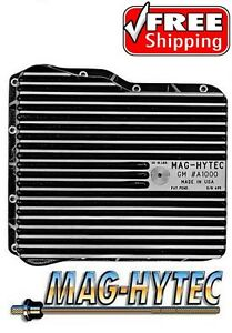 Mag Hytec Transmission Pan Fits 01 18 Chevy Gmc Duramax 6 6l Diesel W Allison