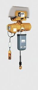 Acco 1 ton Push Trolley Electric Chain Hoist