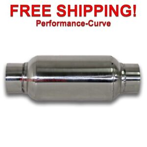Exhaust Muffler Resonator 304 Stainless Steel 2 5 In 11 50 Long