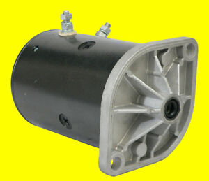 New Western Fisher Snowplow Motor W Two Posts Snow Plow W 6294 Mue6206as 46 3618