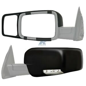 K source 80710 Snap on Towing Mirrors For For Dodge Ram 1500