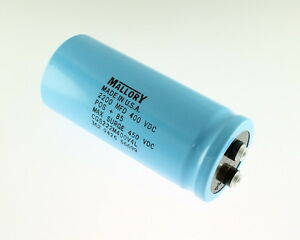 New 2200uf 400v Large Can Electrolytic Aluminum Capacitor Mfd Dc 85c 450v Surge
