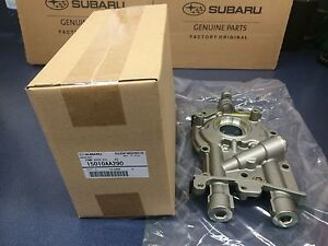 Genuine Oem Subaru Oil Pump Impreza Legacy Forester Baja 2002 2006 2 5 Non Turbo