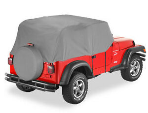 Bestop Trail Cover Jeep Wrangler Unlimited Tj 2003 2006 Cockpit Cover
